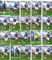 Magnets Lot De 20 Magnets Des Joueurs De L'équipe De France De Football De La Coupe Du Monde 2010 Offerts Par Carrefour - Sports