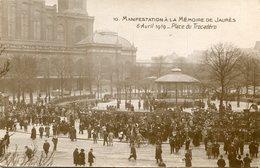 JAURES(PARIS) - Personnages