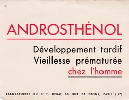 ANDROSTHENOL / VIEILLESSE PREMATUREE CHEZ L HOMME / RARE - Produits Pharmaceutiques