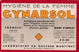 GYNARSOL / HYGIENE DE LA FEMME  / RARE - Chemist's