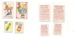 2147) FIGURINE MIRA LANZA 4 DIVERSE 2 GRANDI E 2 PICCOLE - Altre Collezioni