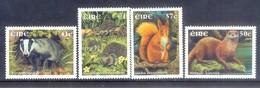 E143- IRELAND IRLAND EIRE 2002. MAMMALS. ANIMALS. GRIZZLY BEAR. - Stamps