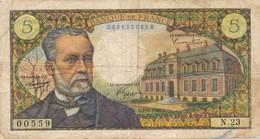 H140 - Billet 5 Francs Type Pasteur 1966 - 1962-1997 ''Francs''