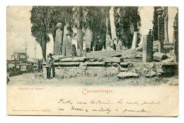 TURQUIE - CONSTANTINOPLE - Cimetière De Scutari - Turkey