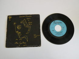 Christian Chevallier - Fiction / Street In Saint Germain - La Cienega / Cristal (1956) - (Vinyle 45 T) Trianon - Collector's Editions