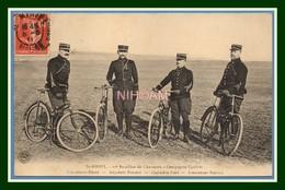 CPA St Mihiel 25é Bataillon De Chasseurs La Compagnie Cycliste Voy 1911 Militaires Nommés TGP BE (R) > Reims - Saint Mihiel