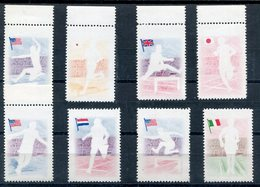 1957-REP.DOMINICANA- -SPORT - VERY RARE   - 8 VAL.  - M.N.H.-LUXE !! - Dominican Republic
