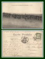 CPA St Mihiel 25é Bataillon De Chasseurs La Compagnie Cycliste En Avant ! Voy 1910 > Reims Taxe N° 31 - Saint Mihiel