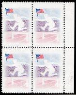 1957-REP.DOMINICANA- -SPORT - VERY RARE- U.S.A. FLAG   - 4 VAL.  - M.N.H.-LUXE !! - Dominican Republic