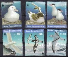 E149- Ross Dependency 1997 Sea Birds. WWF. W.W.F. - W.W.F.