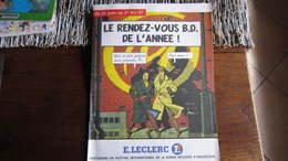 PUBLICITE LECLERC   BLAKE ET MORTIMER - Blake Et Mortimer
