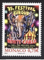 MONACO 2010  - Y.T. 2756 - NEUF ** - Monaco