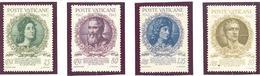 Vatican:Yvert N° 105/108; Cote 6.00€ - Neufs