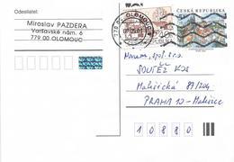 Czech Republic 2001 Olomouc 5 Kc Postal Stationary Card - Postwaardestukken