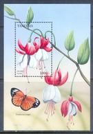 E154- Tanzania Tropical Flowers Flora Plant Flower Orchid. - Butterflies