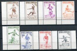 1957-REP.DOMINICANA- -SPORT - VERY RARE- MONOCOLOURS  - 8 VAL.  - M.N.H.-LUXE !! - Dominican Republic