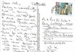 Jamaica 1998 Falmouth Coast Beach Viewcard - Jamaica (1962-...)