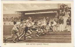 NETHERLANDS Unused Official Olympic Postcard Nr. 95 With 800 Meters Final Women. - Summer 1928: Amsterdam