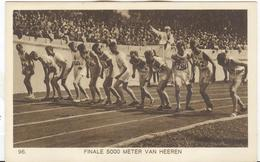 NETHERLANDS Unused Official Olympic Postcard Nr. 96 With Final 5000 Meters Men. - Summer 1928: Amsterdam