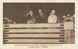 NETHERLANDS Unused Official Olympic Postcard Nr. 97 With The Queen And Prinses Juliana On Royal Tribune - Summer 1928: Amsterdam