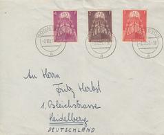 Enveloppe   LUXEMBOURG   Série    EUROPA   1957 - Europa-CEPT