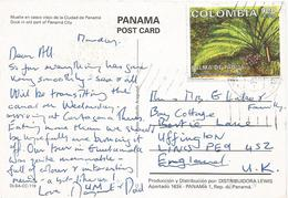 Colombia 1998 Bogota Panama Ivory Palm Phytelephas Seemannii Viewcard - Colombia