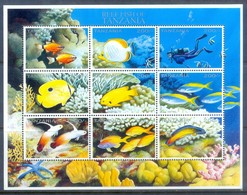 E158- Tanzania 1996. Reff Fish. Marine Life. - Fishes