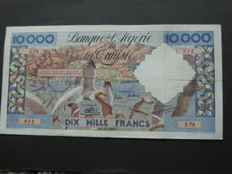 Algérie - Algeria --10 000 Francs 1955 - Banque De L'Algérie Et De La Tunisie  **** EN ACHAT IMMEDIAT **** - Algeria