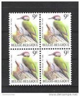 OCB 2778 Postfris Zonder Scharnier ** In Blok Van 4 - 1985-.. Vögel (Buzin)