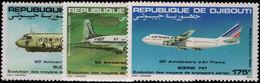 Djibouti 1983 Air France Umounted Mint. - Djibouti (1977-...)