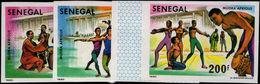 Senegal 1980 Mudra Arts Festival Imperf Unmounted Mint. - Senegal (1960-...)