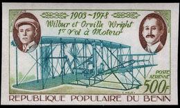 Benin 1978 First Powered Flight Imperf Unmounted Mint. - Benin - Dahomey (1960-...)