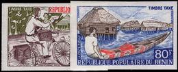 Benin 1978 Postage Due Rural Posts Imperf Unmounted Mint. - Benin - Dahomey (1960-...)