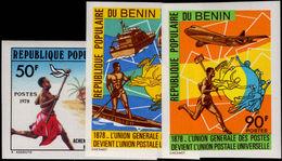Benin 1978 UPU Imperf Unmounted Mint. - Benin - Dahomey (1960-...)