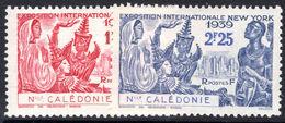 New Caledonia 1939 New York Worlds Fair Fine Lightly Mounted Mint. - Ongebruikt