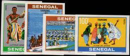 Senegal 1978 Tourism Imperf Unmounted Mint. - Senegal (1960-...)