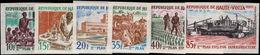 Upper Volta 1972 2nd National Development Plan Imperf Unmounted Mint. - Upper Volta (1958-1984)