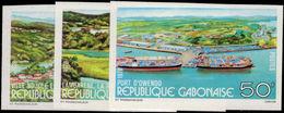 Gabon 1978 Views Of Gabon Imperf Unmounted Mint. - Gabon