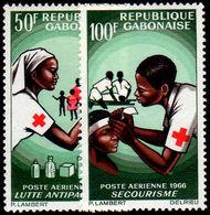 Gabon 1966 Red Cross Unmounted Mint. - Gabon