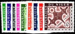 Niger 1962 Postage Due Set Unmounted Mint. - Niger (1960-...)