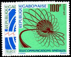 Gabon 1963 Space Telecommunications Unmounted Mint. - Gabon