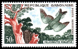 Gabon 1961 50fr Air Birds Unmounted Mint. - Gabon