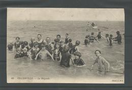 Antieke Cp 65 Villerville.- La Baignade 1914Antieke Cp - Villefranche-sur-Mer