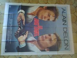 Affiche Cinéma 160 X 120 Le Battant Alain Delon Anne Parillaud Pierre Mondy Richard Anconina - Posters