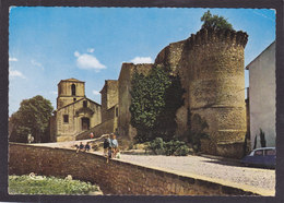 13  PEYROLLES En PROVENCE  Anciens Remparts Et L'Eglise Années 1960 - Peyrolles
