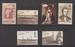 2001 Ascension  Age Of Victoria Navy Ship Botany  Complete Set Of 6 + Souvenir Sheet MNH - Ascension (Ile De L')