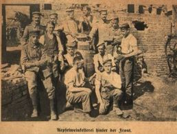 Apfelweinkelterei Hinter Der Front /Druck,entnommen Aus Zeitschrift /1916 - Bücher, Zeitschriften, Comics