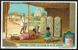 LIEBIG - FR - 1 Chromo - Série/Reeks S 1161 - Sanctuaires Populaires: Monument à Serpents Des Indiens. - Liebig