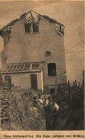 Vom Stellungskrieg: Ein Haus Zwischen Den Gräben /Druck,entnommen Aus Zeitschrift /1916 - Bücher, Zeitschriften, Comics