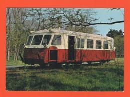 PL/1 LE PETIT TRAIN DE LA VALLEE DE LA DOLLER LIGNE CERNAY SENTHEIM AUTORAIL BILLARD N° 9132 - Eisenbahnverkehr